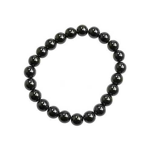 8mm Hematite (man-made) bracelet