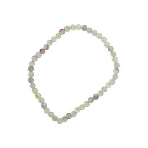4mm Fluorite stretch bracelet