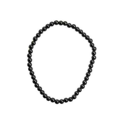 4mm Hematite stretch bracelet