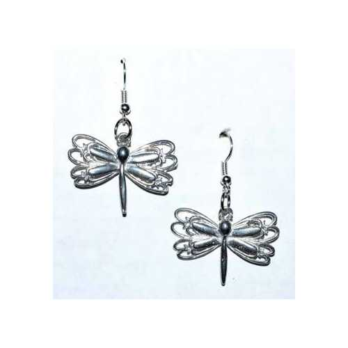 "1"" Dragonfly earrings"