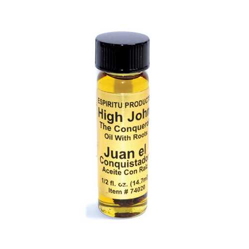 High John the Conqueror oil  with root 4 dram