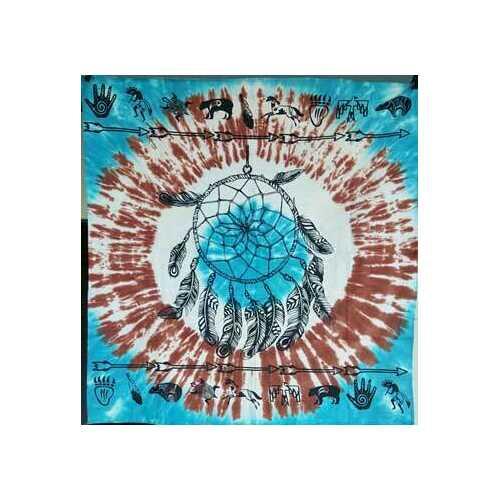 "36"" x 36"" Dreamcatcher altar cloth"