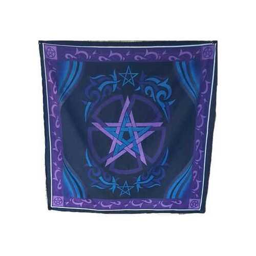 """36"""" x 36"""" Pentagram altar cloth"""