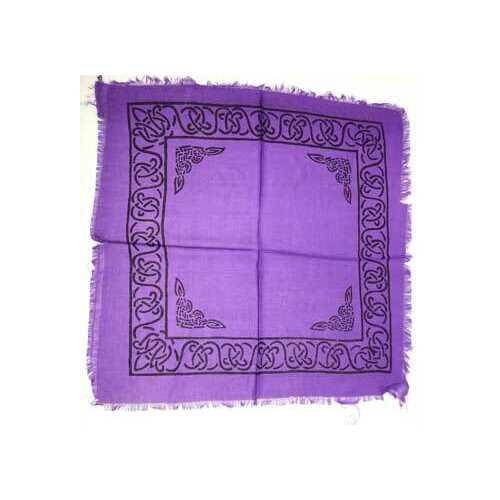 """Celtic altar or tarot cloth 18"""" x 18"""""""