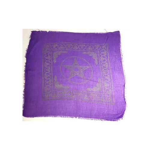"""Pentagram altar cloth 18"""" x 18"""""""