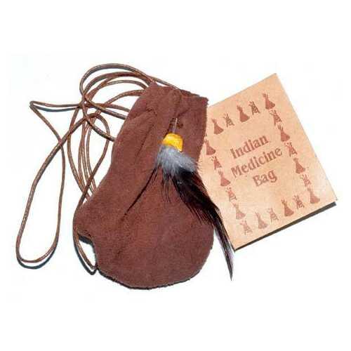 "3"" Medicine Dream bag Brown"