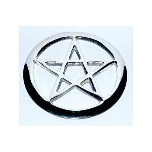 "2 3/4"" Pentagram altar tile"