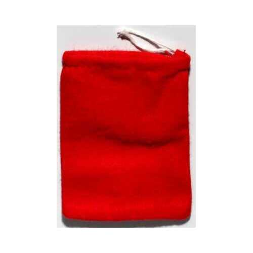 """Red Cotton bag 3"""" x 4"""""""