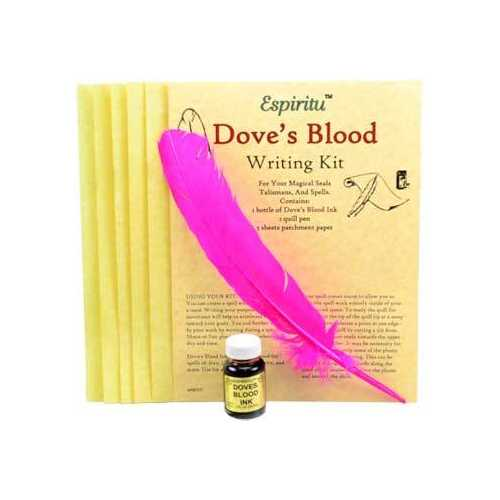 Dove's Blood writing kit