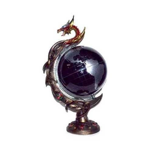"18"" Dragon Globe"