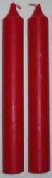 """1/2"""" Red Chime Candle 20 pack"""