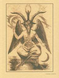 Baphomet poster
