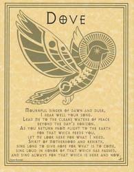 Dove Prayer poster