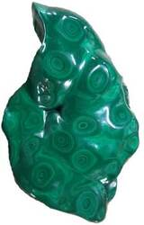 Category: Dropship Occult & Magical, SKU #GFSMAL5, Title: 5# Malachite free shape