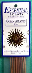 Ocean Atlantis escential essences incense sticks 16 pack
