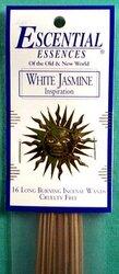 White Jasmine escential essences incense sticks 16 pack