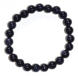 8mm Blue Goldstone bracelet