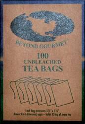 "3 1/8""x 3 7/8"" 100pk Paper Tea Bags"