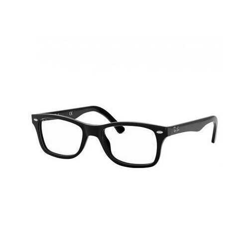 Ray-Ban RB5228 2000 Black Full Rim Frame Rectangular Eyeglasses