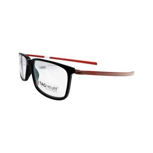 TAG Heuer 3451 Reflex Rectangle Prescription Rx Ready Eyeglasses Frames