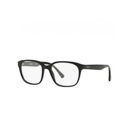 Ray-Ban RB5340-2000 Black Square Unisex Acetate Eyeglasses
