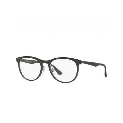 Ray-Ban RB7116-5196 Black Round Men's Nylon Eyeglasses