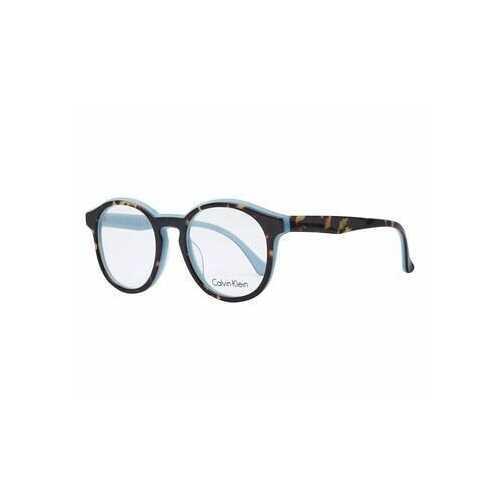 Calvin Klein CK-5932-230 Tortoise Azure Round Unisex Eyeglasses
