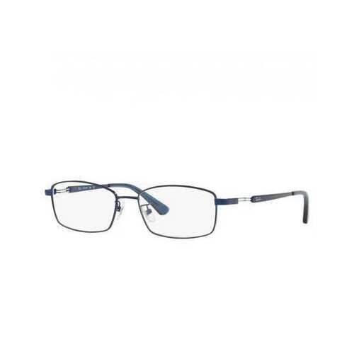 Ray-Ban RB8745D-1061 Blue Rectangular Titanium Men's Eyeglasses