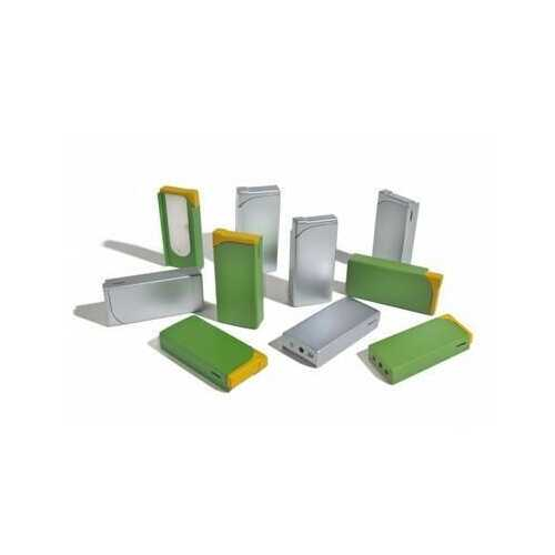 24 Pack Refillable Adjustable Clip-On Cigarette Box Lighter