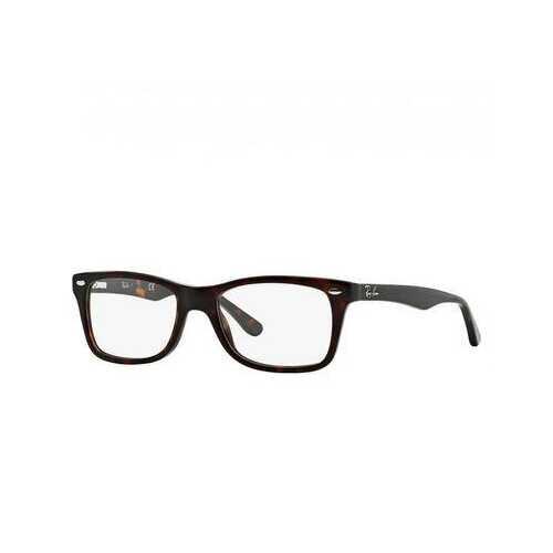 Ray-Ban RB5228-2012 Dark Havana Rectangular Unisex Acetate Eyeglasses