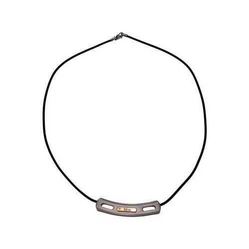 "BLISS by Damiani ""Gold Tytanium"" Titanium & 18k Rose Gold Necklace"