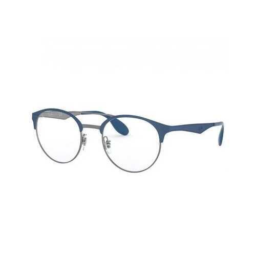 Ray-Ban RB3545V-3006 Blue Gunmetal Round Metal Unisex Eyeglasses