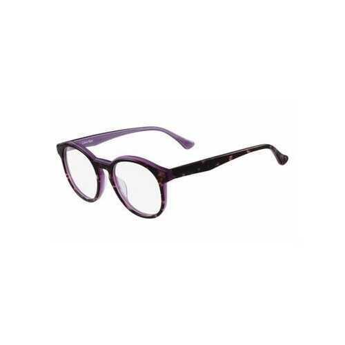 Calvin Klein CK-5932-222 Tortoise Violet Round Unisex Eyeglasses
