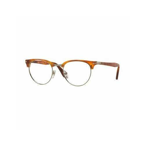 Persol PO8129V-96 Terra di Sienna Browline Unisex Plastic Eyeglasses