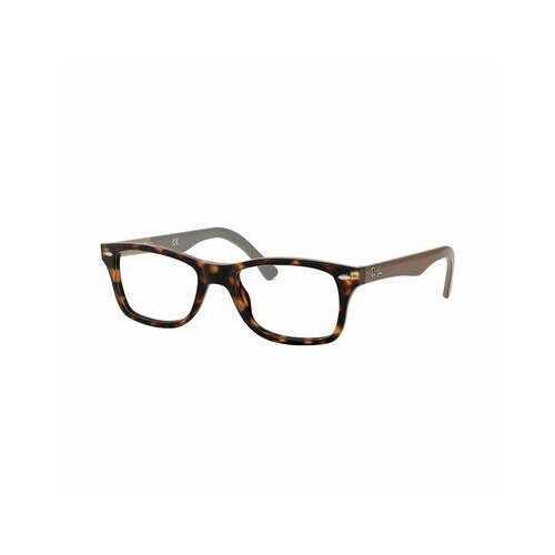 Ray-Ban RB5228-5545 Timeless Tortoise Rectangular Unisex Acetate Eyeglasses