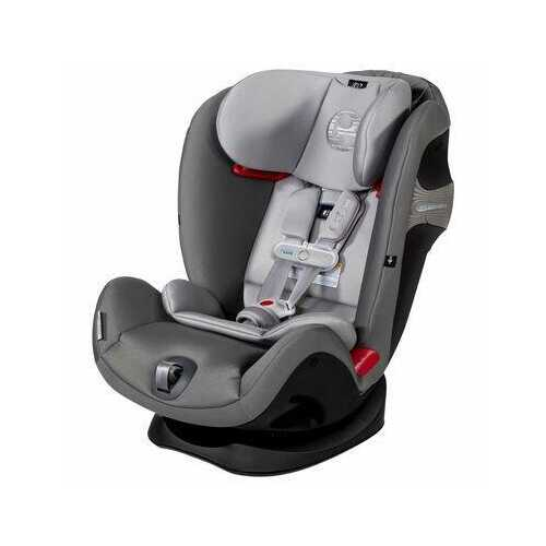 Cybex Eternis S All-in-One Convertible Car Seat with SensorSafe Technology - Manhattan Grey