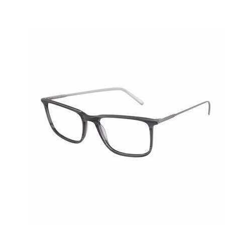 Lacoste L2827-466 Striped Avio Rectangular Men's Acetate Eyeglasses