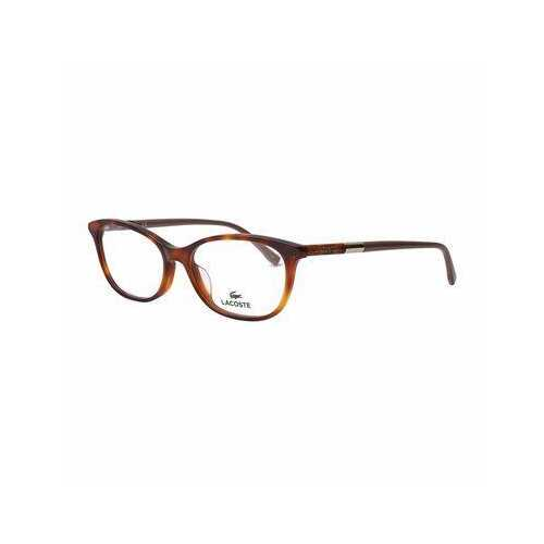 Lacoste L2830-214 Havana Rectangular Women's Acetate Eyeglasses