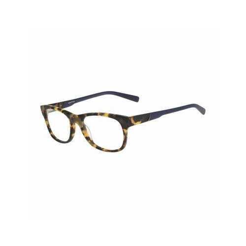 Nautica N8114-228 Matte Tokyo Tortoise Rectangular Men's Acetate Eyeglasses