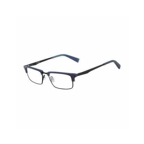 Nautica N8123-325 Matte Navy Rectangular Men's Acetate Eyeglasses