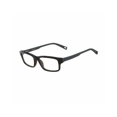 Nautica N8127-206 Dark Tortoise Rectangular Men's Acetate Eyeglasses
