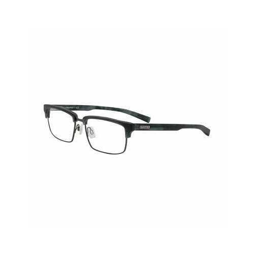 Nautica N8139-445 Matte Teal Horn Rectangular Men's Metal Eyeglasses