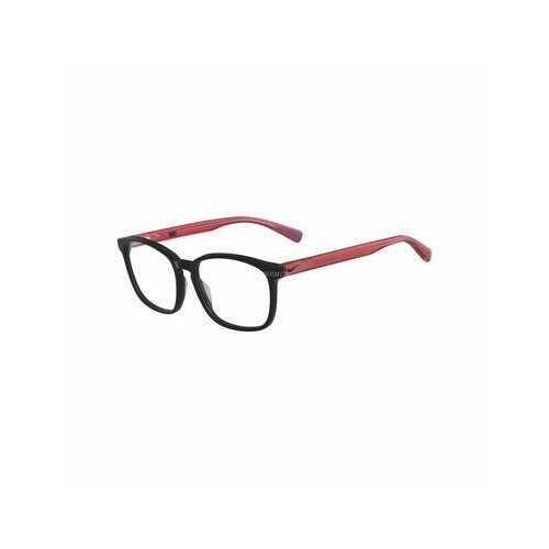 Nike 5016-007 Black Red Square Unisex Plastic Eyeglasses