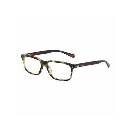Nike 7239-215 Matte Tokyo Tortoise Square Men's Acetate Eyeglasses