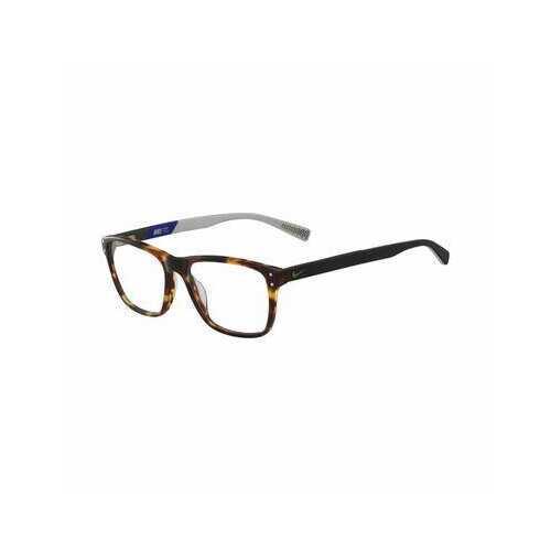 Nike 7241-200 Tortoise Square Unisex Plastic Eyeglasses