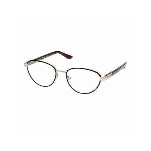 Salvatore Ferragamo SF2145-706 Shiny Amber Gold Brown Oval Women's Eyeglasses
