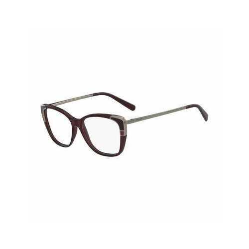 Salvatore Ferragamo SF2811-606 Wine Cat-Eye Women's Metal Eyeglasses