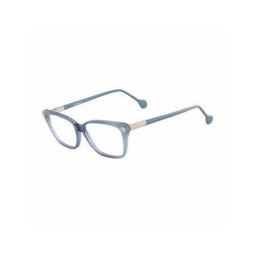 Salvatore Ferragamo SF2824-414 Navy Blue Square Women's Acetate Eyeglasses
