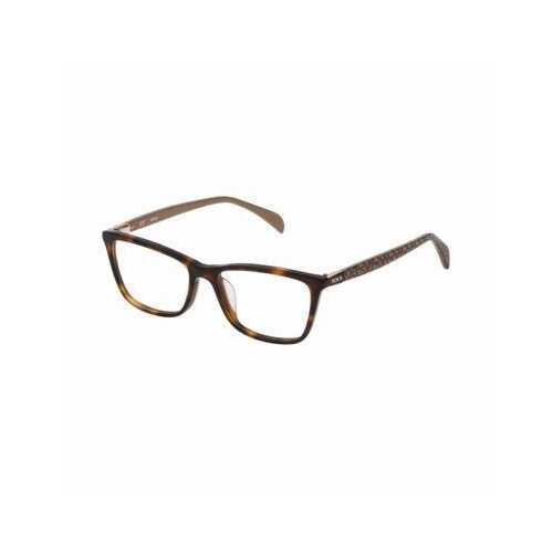 Tous VTO978-0722 Havana Square Women's Acetate Eyeglasses