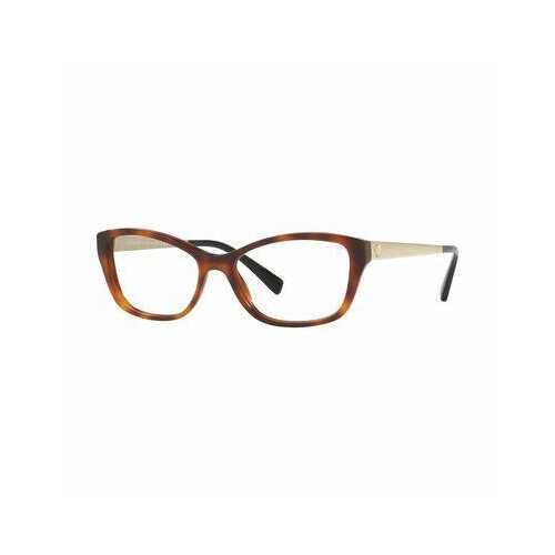 Versace VE3236-5217 Havana Cat-Eye Women's Plastic Eyeglasses